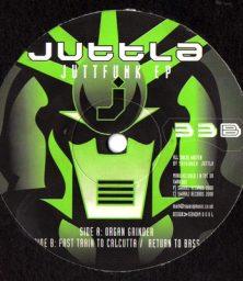"Juttla – Juttfunk (12"") Swaraj Records (2000)"