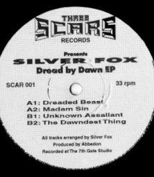 "Silverfox – Dread By Dawn EP (12"") Three Scars Records (1993)"